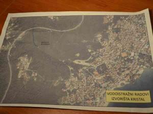 Mapa vodoistražnih radova